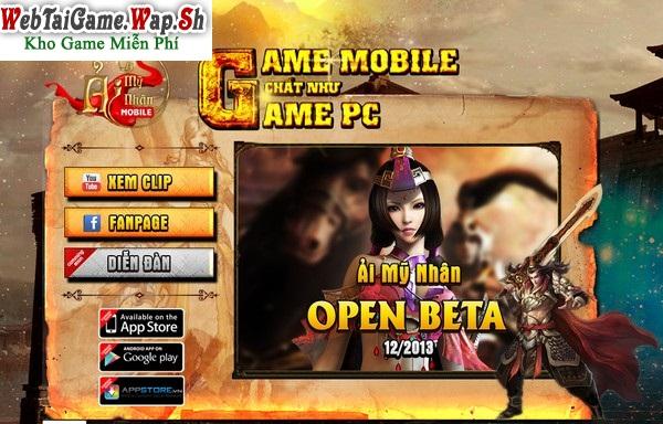 Tải game Ải Mỹ Nhân Mobile - Aimynhan.mobi cho Android, iOs và PC