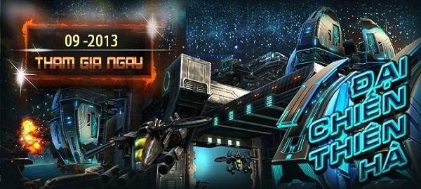 Tải game Đại chiến thiên hà Online cho điện thoại