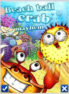 Tải game Beach ball crab mayhem